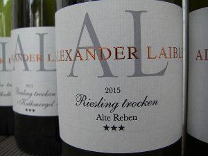 Alexander Laible: angenehme Zurückhaltung auf dem Weinetikett