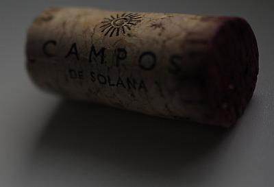 Korken des Malbec Wein von Campos de Solana aus Bolivien