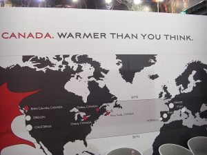 Kanada, it's warmer than you think