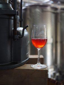 Rosé Wein von Clos du Phoenix im Libanon