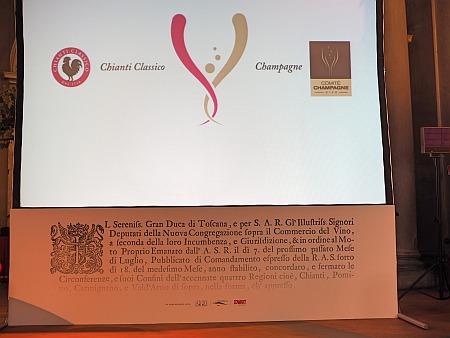 300 Jahre Chianti Classico Kooperation Champagne