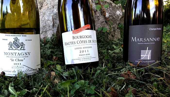 Französischer Wein Verwechslungen Burgund Flaschen