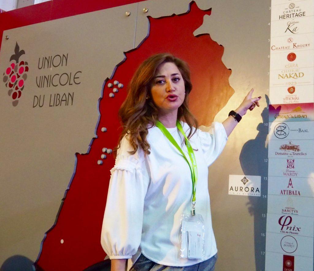 Diskussionsrunde libanesischer Winzer Union Vinicole du Liban