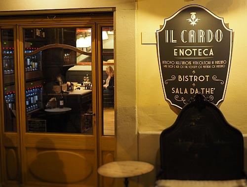 Weinprobierzentrum Panzano Il Cardo