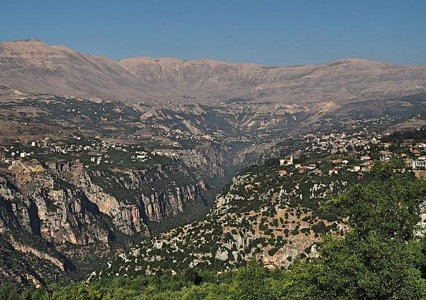 Qadisha Valley Tal im Libanon