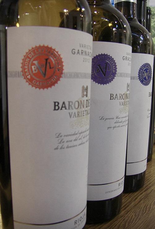 Sortenreine Weine von Barón de Ley Varietales