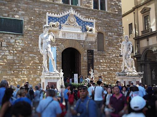 300 Jahre Chianti Classico Feier im Palazzo Vecchio in Florenz