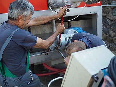 Kelter Traubenpresse defekt Reparatur