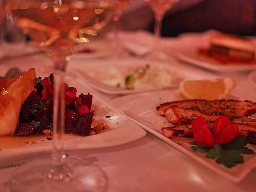 griechischer Wein griechisches Essen