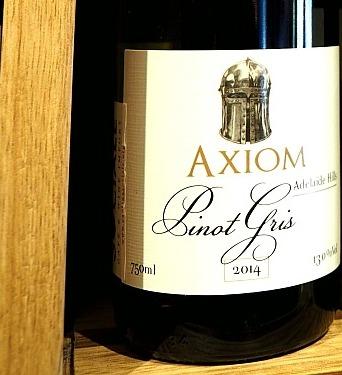 skurrile Weinnamen Axiom Pinot gris Adelaide Hills