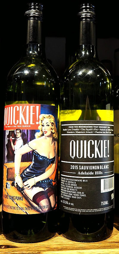 skurrile Weinnamen Quickie Some young punks Sauvignon blanc