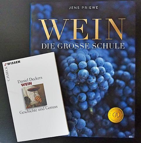Weinbücher Priewe Wein Die große Schule Deckers Wein Geschichte und Genuss