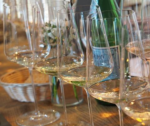 weihnachtliche Weinsorgen Weingläser edel