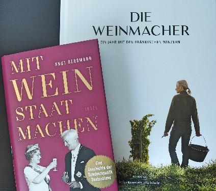 Wein-Bücher Knut Bergmann Mit Wein Staat machen Stefan Bausewein Julia Schuller Die Weinmacher