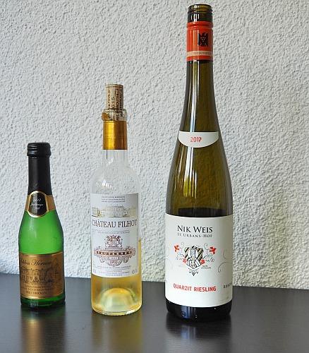 Psychologie der Flaschengröße Piccolo halbe Flasche Standardgröße