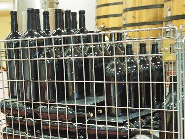 Psychologie der Flaschengröße große Weinflaschen