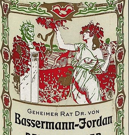 Probus Bassermann-Jordan Pfalz Wein Etikett Riesling