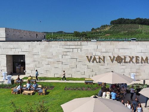 Saar-Riesling Van Volxem neues Gebäude