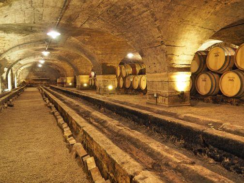 Château des Jacques cave Weinkeller