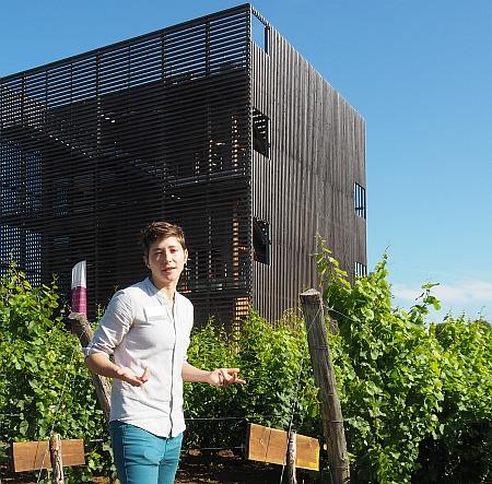 Weinprobierzentrum La Caborde Axelle Locatelli