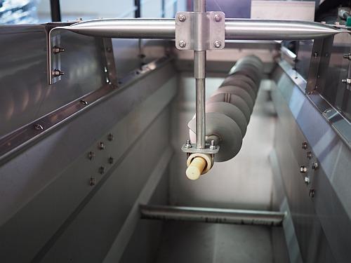 Weingut-Italienisch Vollernter Erntemaschine Lese maschinell